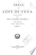 Obras de Lope de Vega: - Vol. 6.- Vol. 7.- Vol. 8.- Vol. 9.- Vol. 10