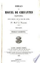 Obras de Miguel de Cervantes Saavedra: Persiles y Sigismunda