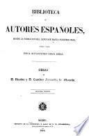 Obras de Nicolas Fernández de Moratín y de Leandro Fernández de Moratín