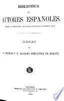 Obras de Nicolás y Leandro Fernández de Moratʹin