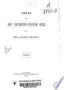 Obras de Nicomedes Pastor Díaz