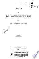 Obras de Nicomedes-Pastor Diaz