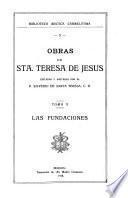 Obras de Santa Teresa de Jesus: Las Fundaciones