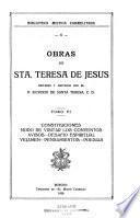 Obras de sta. Teresa de Jesús: Escritos sueltos
