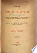 Obras de William Shakspeare