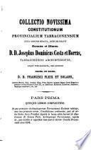 Obras del Excelentísimo e Ilustrísimo señor doctor D. José Domingo Costa y Borrás ...