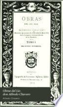 Obras del Lic. don Alfredo Chavero: Escritos diversos