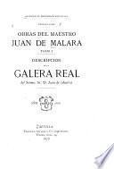 Obras del maestro Juan de Malara ...