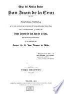 Obras del mistico doctor San Juan de la Cruz