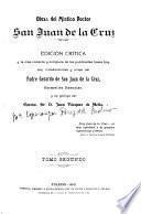 Obras del místico doctor San Juan de la Cruz
