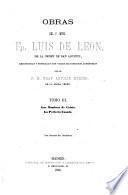 Obras del P. Mtro. Fr. Luis de León...