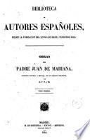 Obras del Padre Juan de Mariana