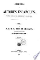Obras del v. p. m. fray Luis de Granada con un prologo e la vida del autor por Don José Joaquín de Mora