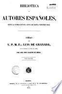 Obras del V.P.M. Fray Luis de Grenada
