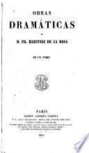 Obras dramáticas 1845