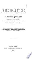 Obras dramáticas de Francisco F. Fernandez ...