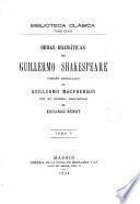 Obras dramáticas de Guillermo Shakespeare: Antonio y Cleopatra. Timón de Atenas. El cuento de invierno