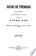 Obras dramáticas: Juego de prendas. 1910. Llovido del cielo. 1911. La marquesita. 1910. El matrimonio interino ...