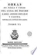 Obras en prosa y verso, 6