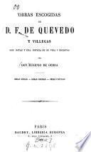 Obras escogidas de D.F. de Quevedo y Villegas