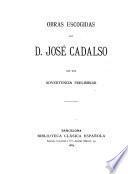 Obras escogidas de d. José Cadalso