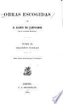 Obras escogidas de D. Ramon de Campoamor ...