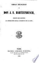 Obras escogidas de Don J. E. Hartzenbusch