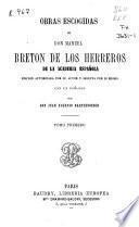 Obras escogidas de Don Manuel Bretón de los Herreros