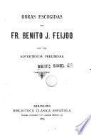Obras escogidas de Fr. Benito J. Feijoo