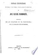 Obras escogidas en prosa y en verso, publicadas e ineditas