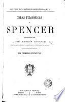 Obras filosóficas de Spencer