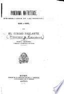Obras jocosas y satíricas de El curioso parlante [pseud.]