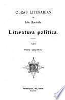 Obras literarias de Julio Nombela