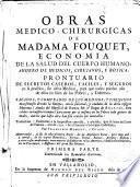 Obras medico-chirurgicas ... economia de la salud del cuerpo humano