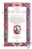 Obras poéticas de don A. Cánovas del Castillo