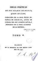 Obras Poéticas de don Ignacio de Meras Queipo de Llano, 2