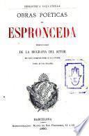 Obras poéticas de Espronceda