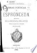 Obras poéticas de Jose de Espronceda