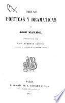 Obras poéticas y dramáticas de José Mármol
