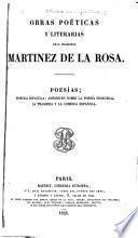 Obras poeticas y literarias 1845