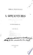 Obras posthumas de A. Gonçalves Dias