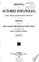 Obras publicadas é inéditas de D. Gaspar Melchior de Jovellanos