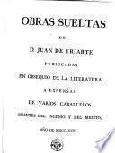 Obras sueltas de D. Juan de Yriarte, 2