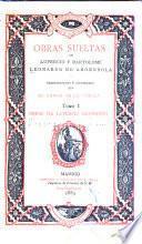 Obras sueltas de Lupercio y Bartolomé Leonardo de Argensola: Lupercio Leonardo