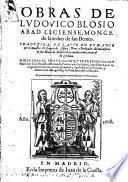 Obras ... Traduzidas de latin en romance por ... Gregorio de Alfaro ... Es quinta impression, corregida y enmendada por el mismo autor