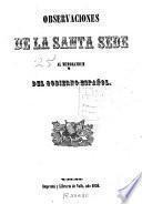 Observaciones de la Santa Sede al memorandum del Gobierno Español