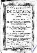Ocios de Castalia en diversos poemas ...