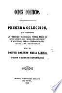 """Ocios poeticos ... Primera coleccion, que comprende la """"Temora"""" de Ossian, etc"""