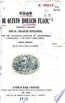 Odas de Quinto Horacio Flaco