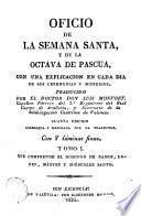 Oficio de la Semana Santa y de la Octava de Pascua